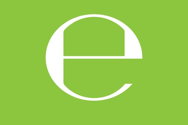 Estimated 'e' symbol